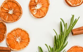 Easy Dried Orange Slices for Christmas Decorations