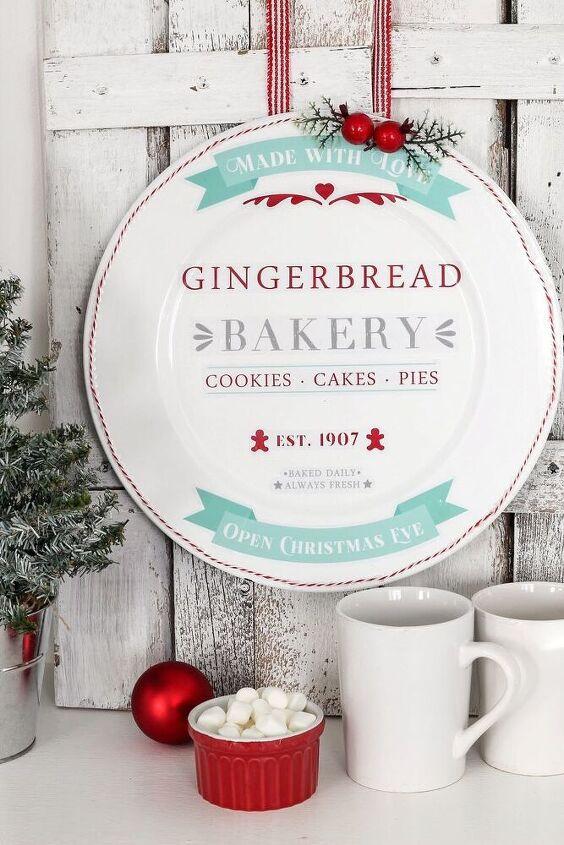 diy christmas farmhouse baking sign