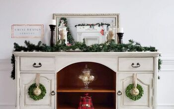 Country Style Sideboard Makeover