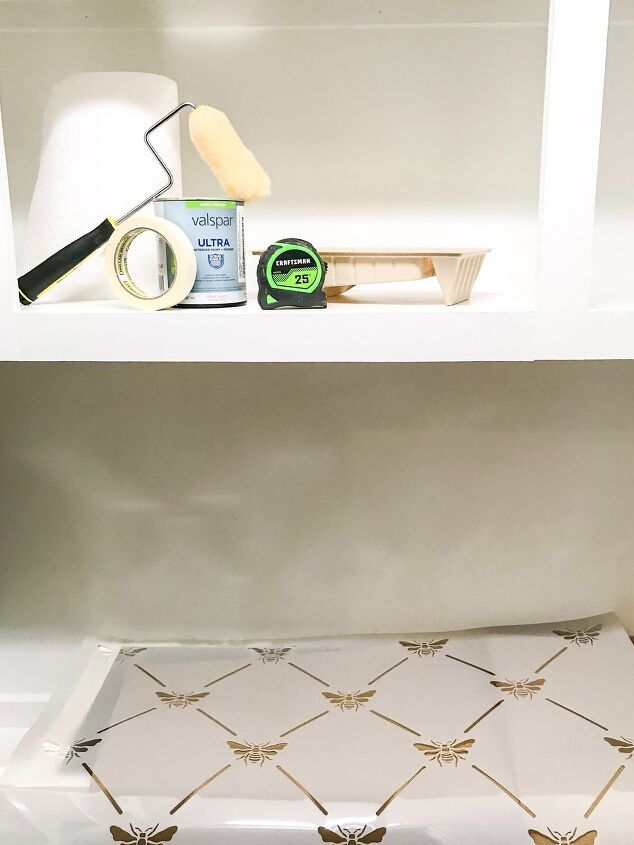 how to stencil a faux backsplash tips tricks what not to do