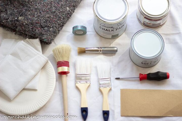 how to paint and stencil furniture with chalk paint