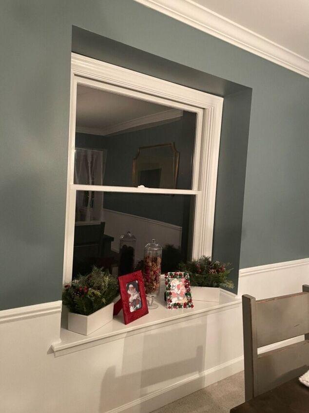 q single bay window treatments