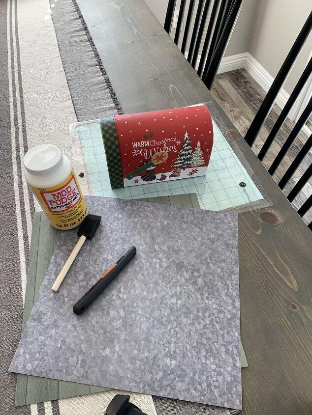 diy santa s mailbox