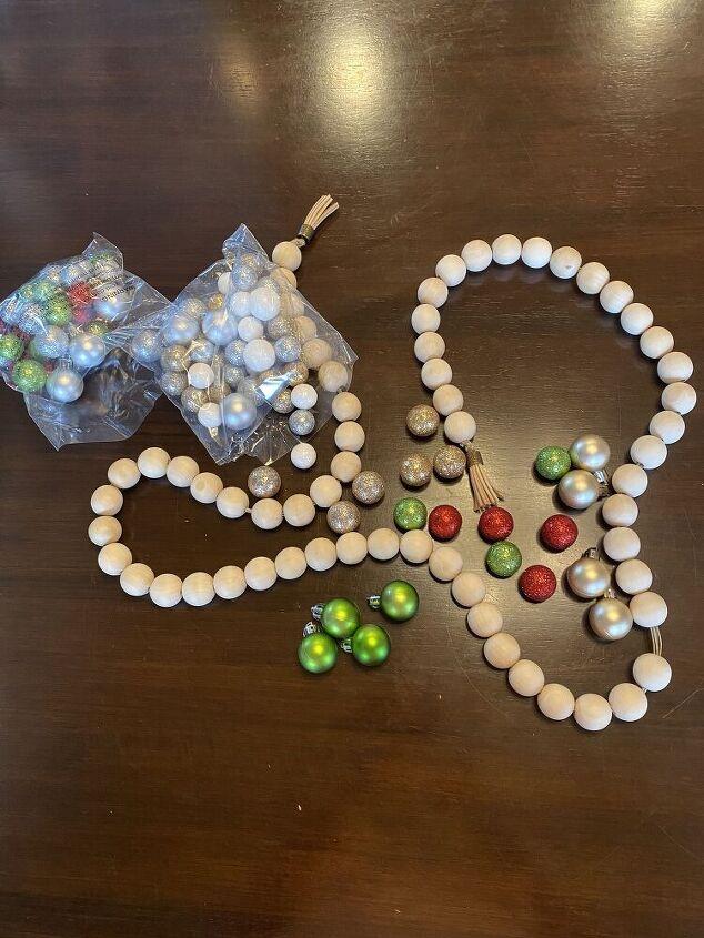 christmas farmhouse beads