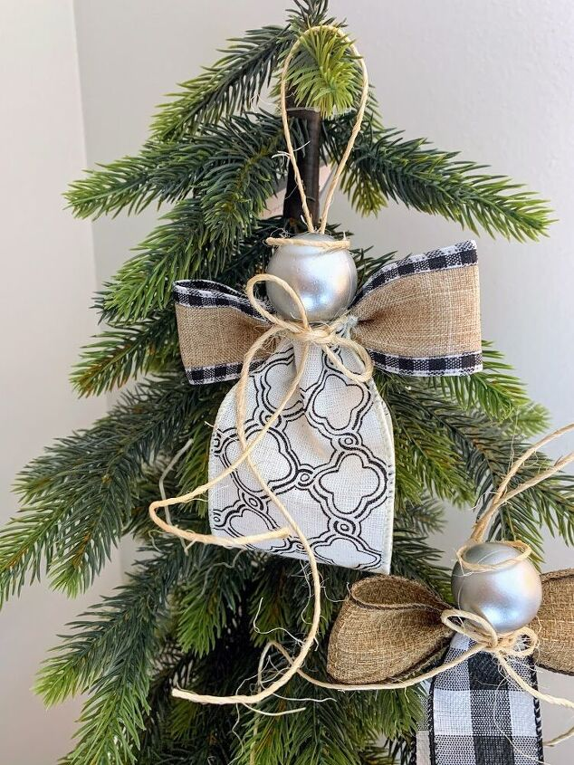 ribbon angel christmas ornaments