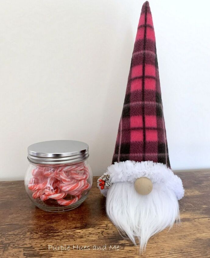 how to make a festive gnome treat jar