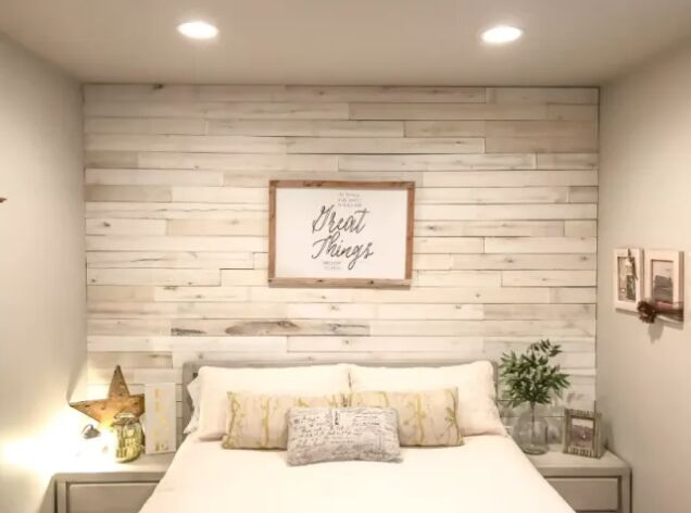 do it yourself wood wall tutorial