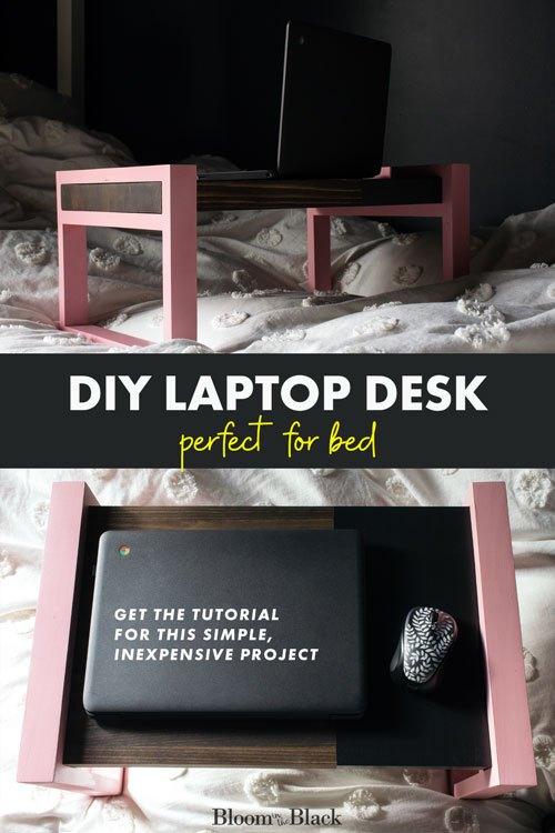 diy laptop desk or bed tray