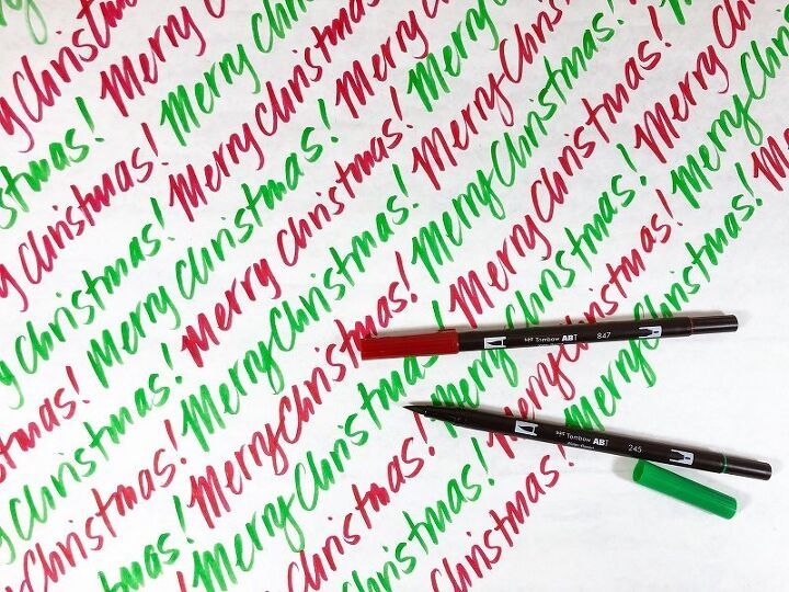 diy christmas wrapping paper ideas