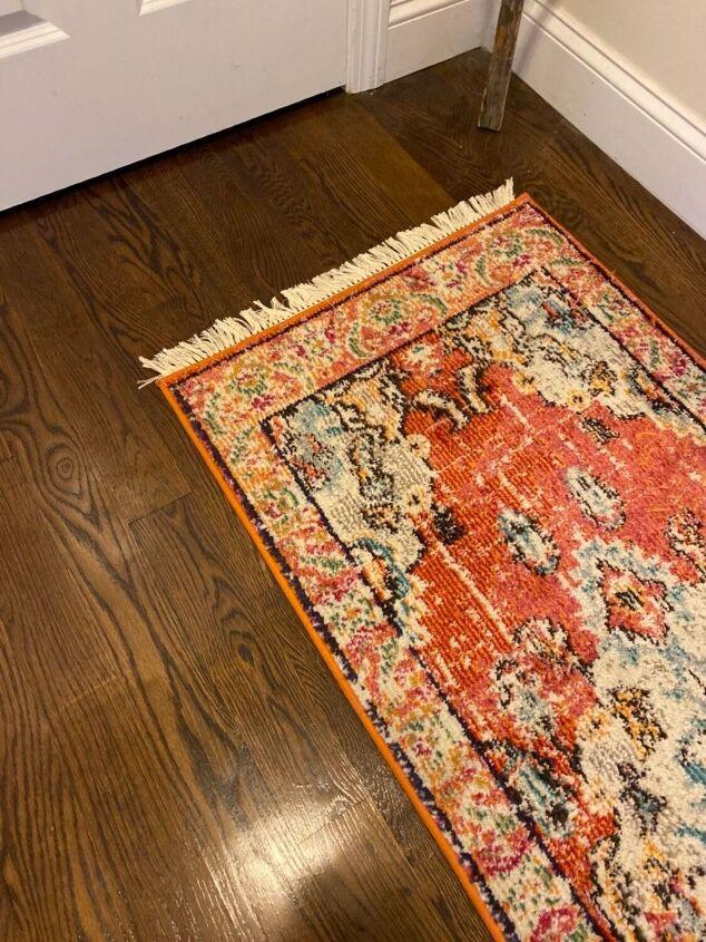 vintage rug upgrade