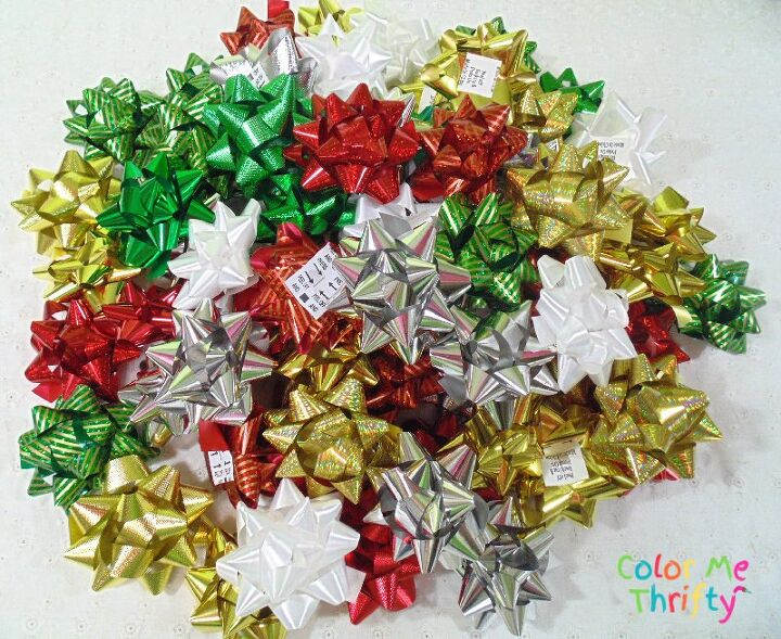 quick easy gift bow wreath