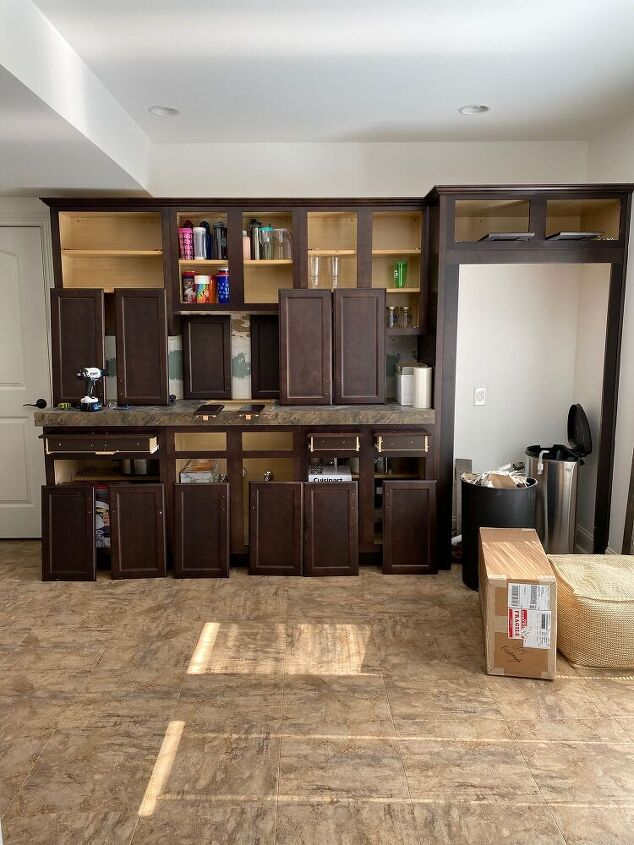 paint your cabinets like a pro get the look you ve been dreaming of, Before