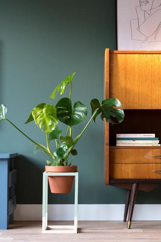 plant stand of wood that s how you make it yourself