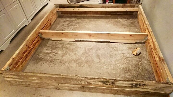 how to make your own wooden bed base, Wood base planning