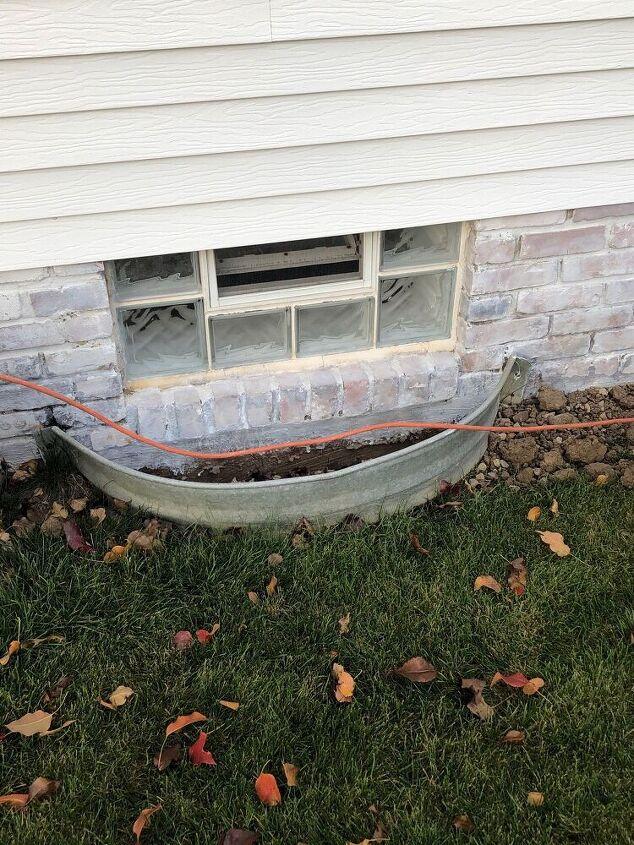 adding an egress window to basement