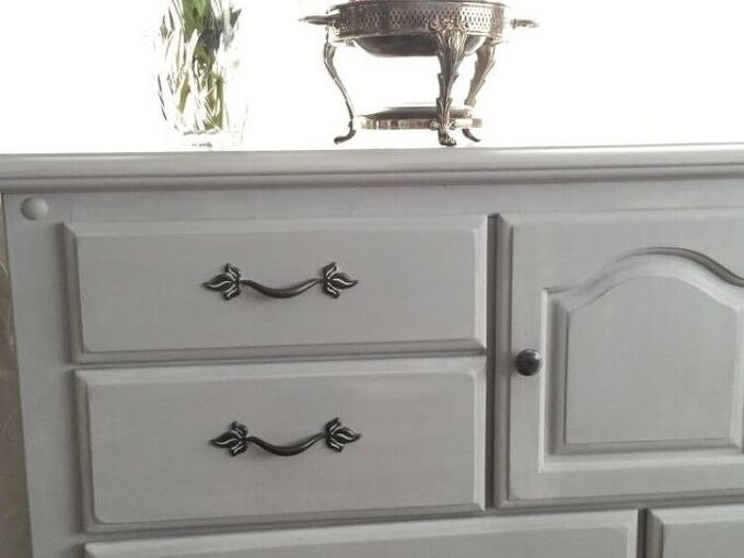 how to chalk paint a dresser with annie sloan paris grey chalkpaint