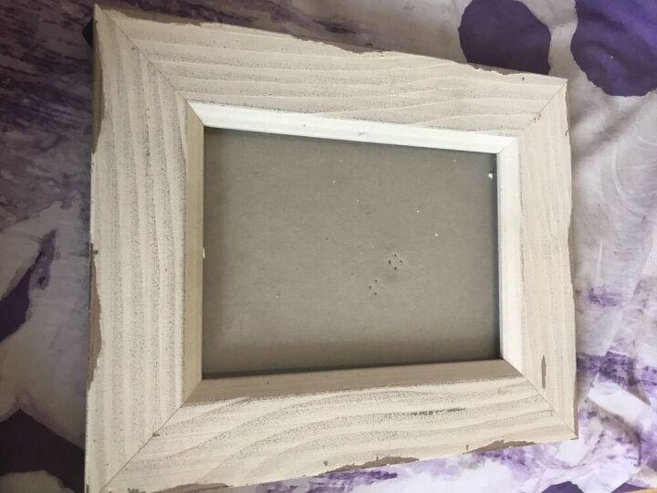 how to transform a plain photo frame with mosaic, Photo frame