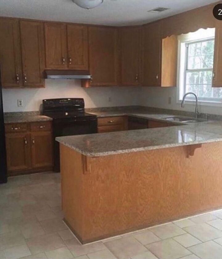 25 kitchen island update