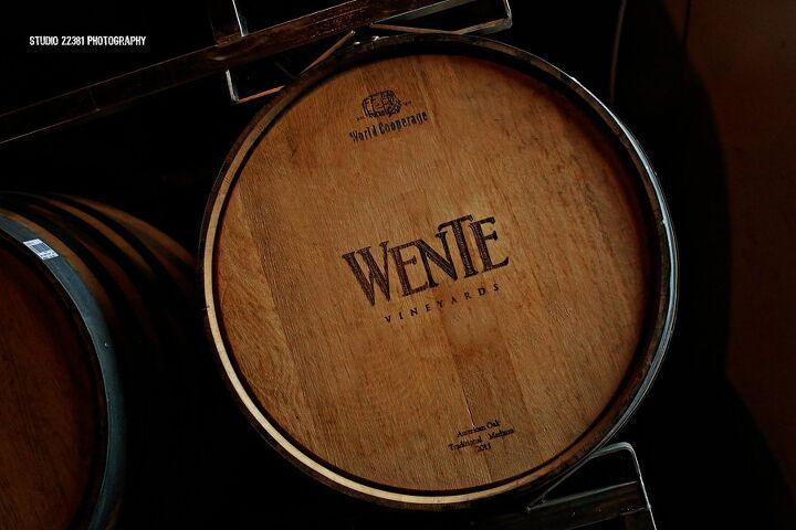 clear coat wine barrel top using epoxy resin, Wine Barrel from Wente Vineyards