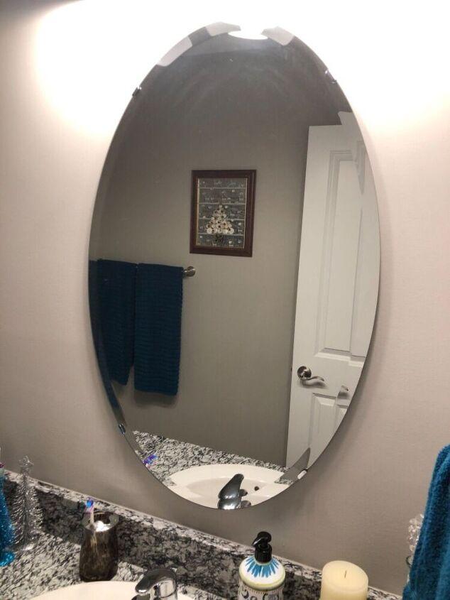 Mirror Clips Hometalk, How To Remove Bathroom Mirror Clips