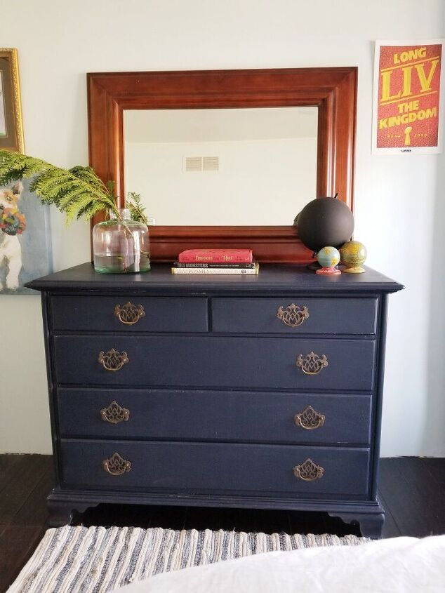 new life for a thrift store dresser