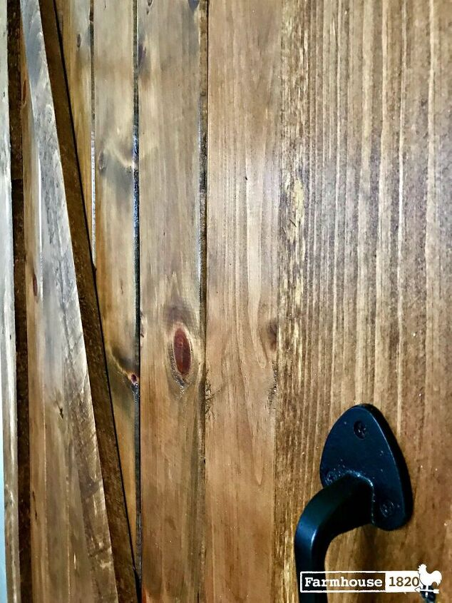 a diy barn door that s easier than you think