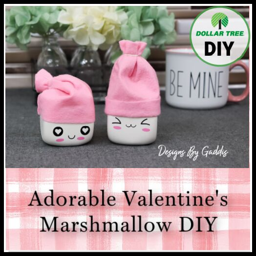 the cutest diy valentine s tiered tray marshmallows ever