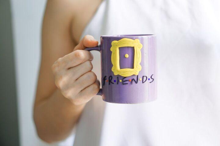make you own friends tv show mug