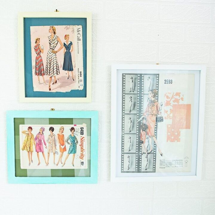add some style to your decor with this diy vintage pattern art