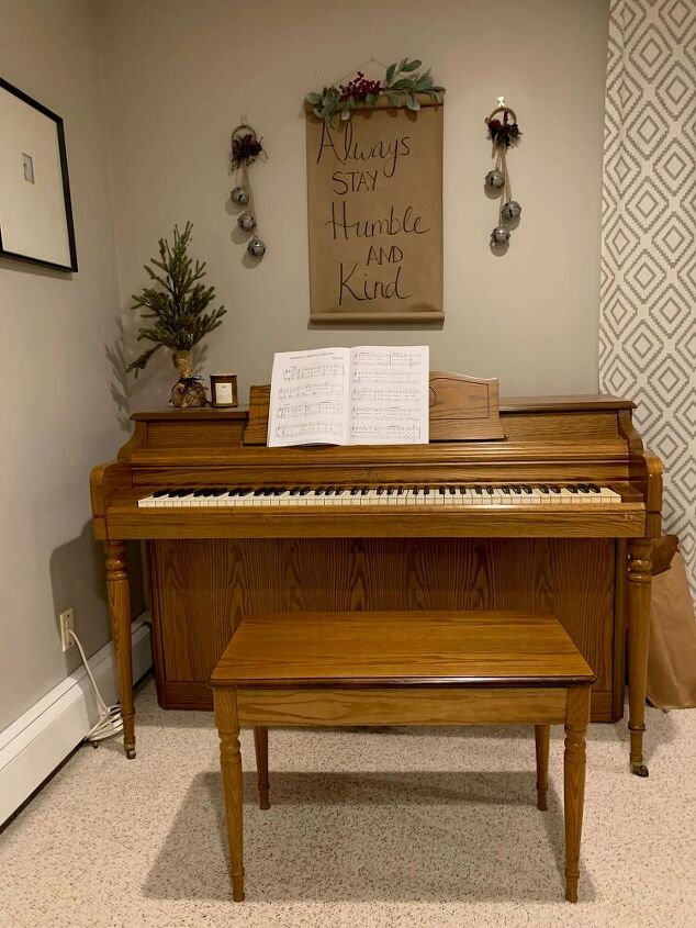 how to makeover a piano with paint