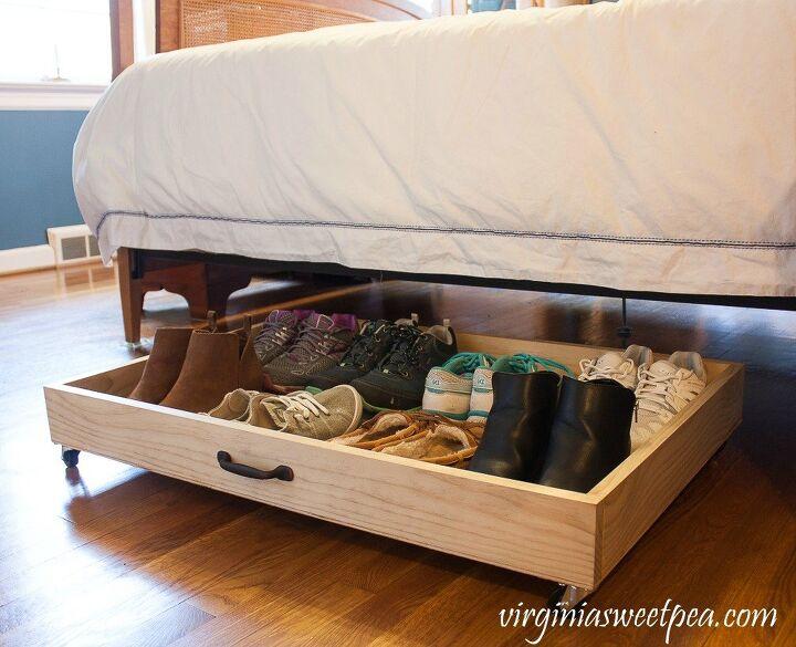 diy under bed rolling storage drawer