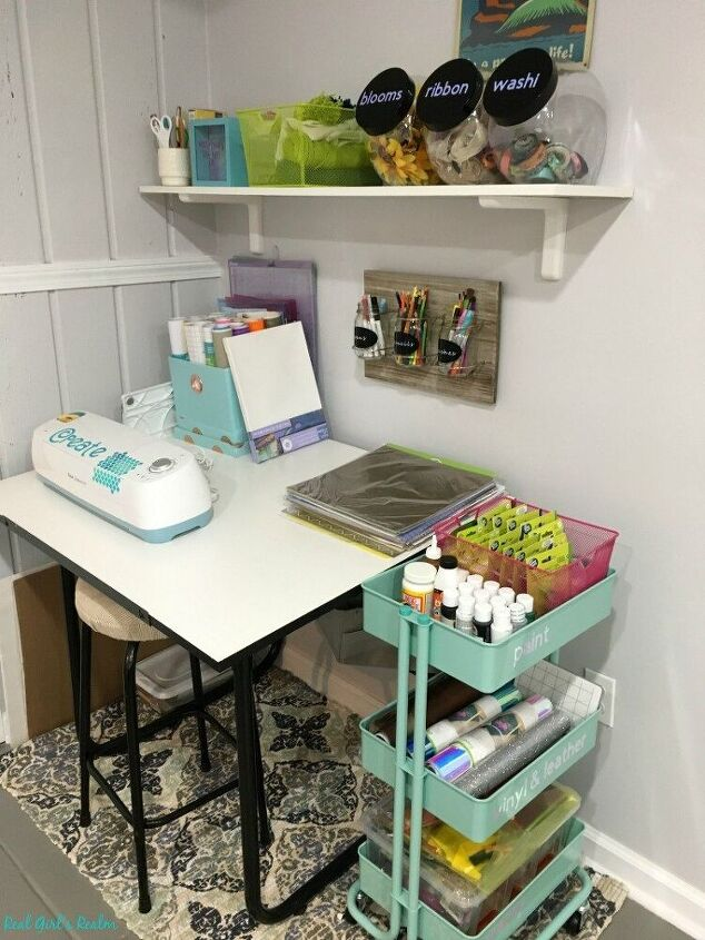tips on organizing craft supplies