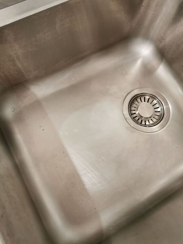 q halp how to get rid of these black marks on my stainless steel sink