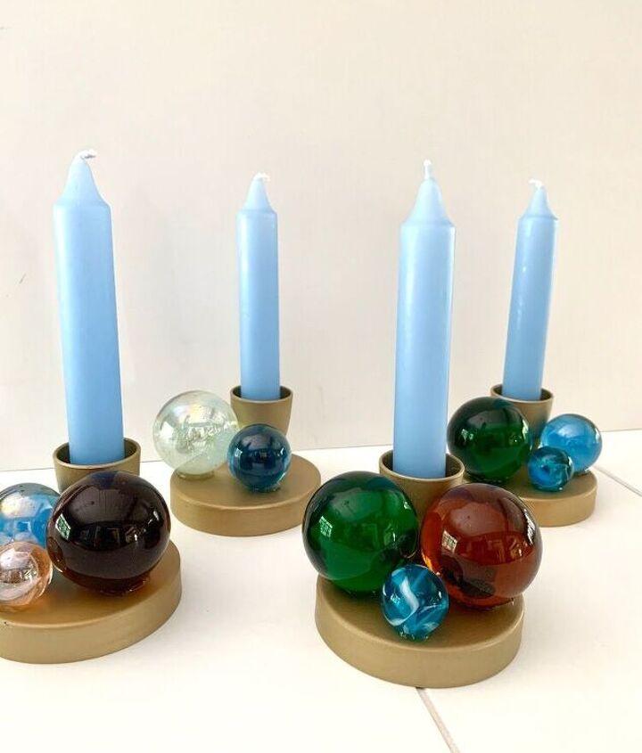 Jonathan Adler Inspired Candle Holders