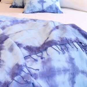 Shibori Dyed Bedding Set
