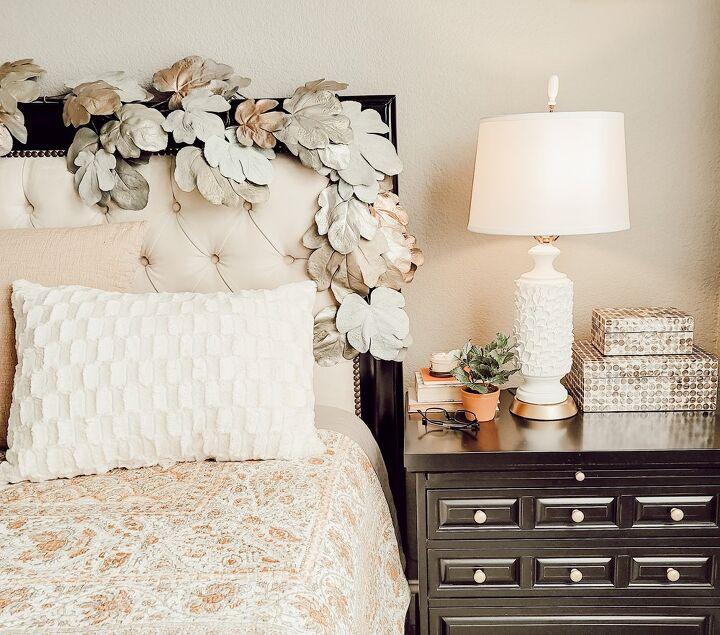 s 30 ways to get anthropologie style decor on a walmart budget, DIY Lamp Makeover With Texture and Dimension