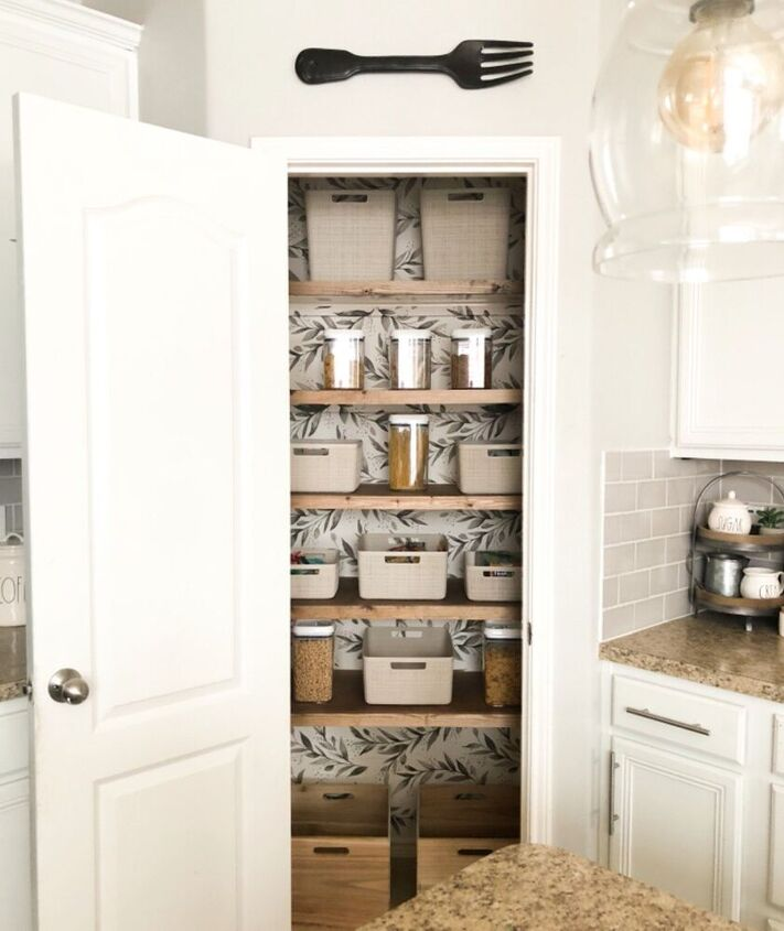 pantry makeover organization