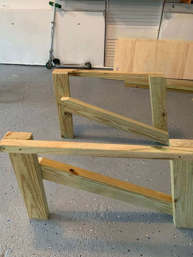 how to build an outdoor adirondack chair made from skis