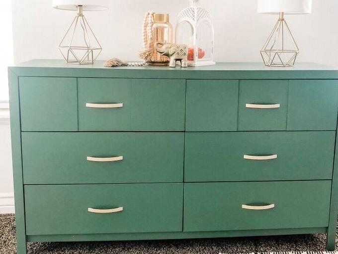 gorgeous dresser on a budget