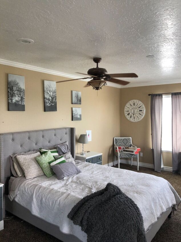 s 20 beautiful bedroom upgrades that you can totally do this weekend, Complete Bedroom Transformation