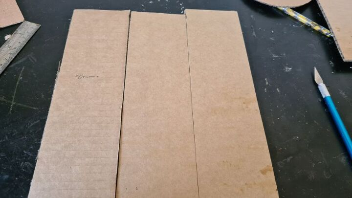 how to make a 3d heart from cardboard