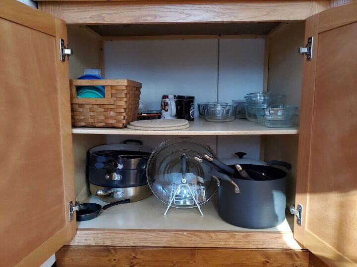 pot and pan storage solution
