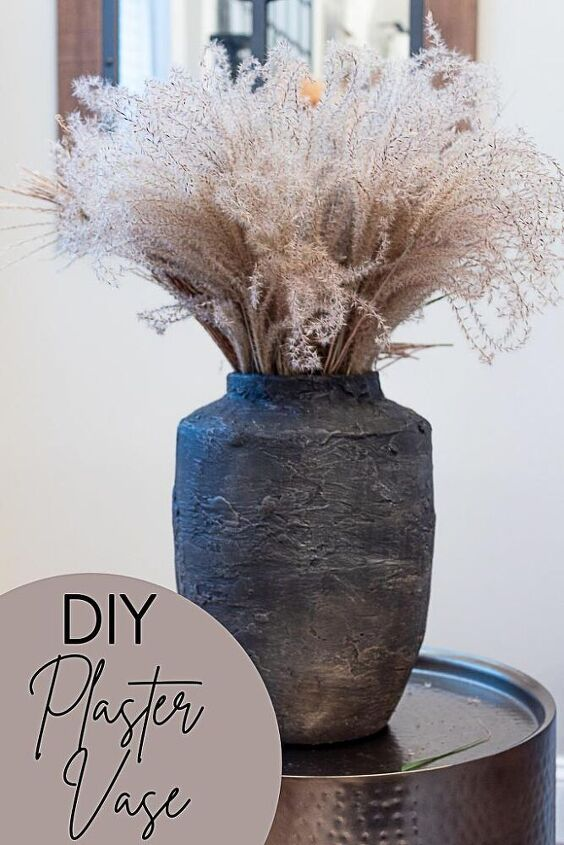 diy plaster vase tips for working with plaster of paris