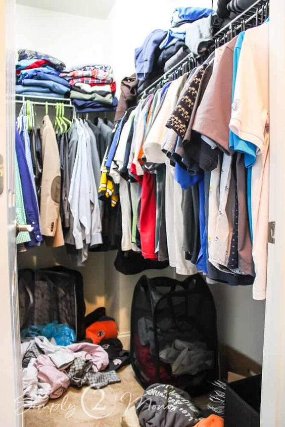 how to diy a master bedroom closet for less than 250