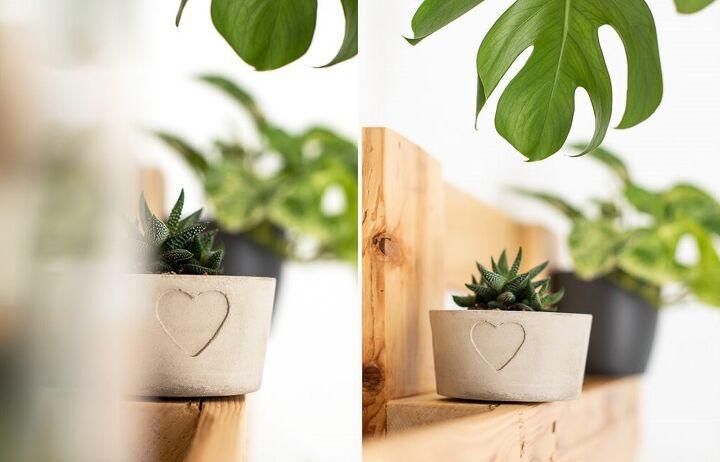 make diy flower pot out of concrete yourself gizmos hobbies diy