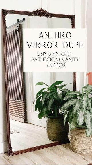 Diy Anthropologie Primrose Inspired Mirror From An Old Bathroom Mirror Hometalk