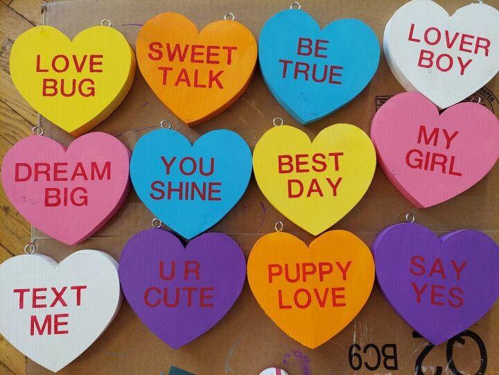 valentines conversation hearts diy