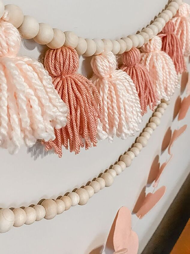 3 cute and simple valentine s day garlands