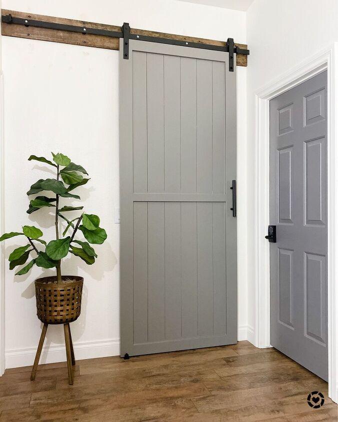 how to diy a barn door