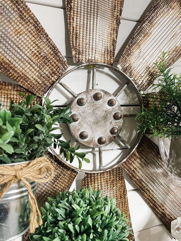 farmhouse decor diy using dollar tree cookie tin